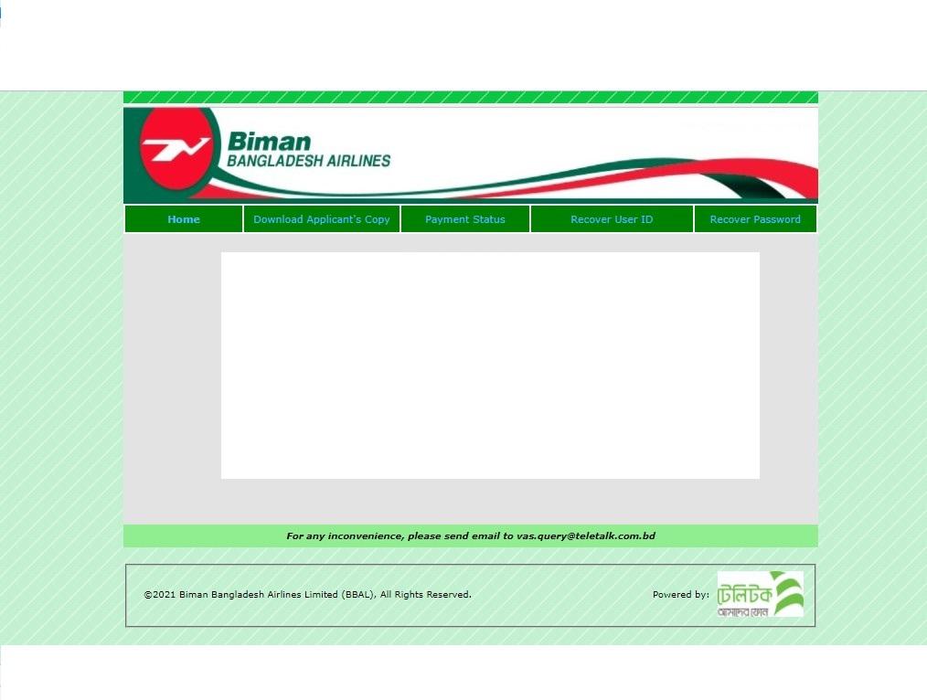 Biman Bangladesh Airlines Job Circular 2021 - Jobs Test bd